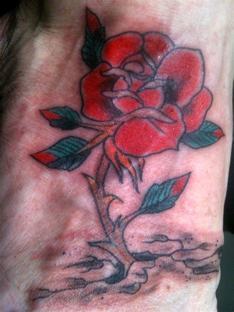 concrete rose tattoo iron tiger tuesdays 3 iron tiger