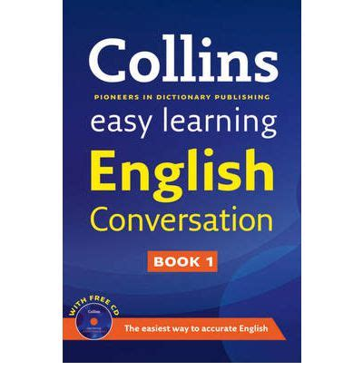 Simple English Learning Book | easy learning english conversation book 1 collins