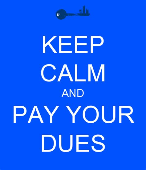 Wall Stickers Children keep calm and pay your dues keep calm and carry on image