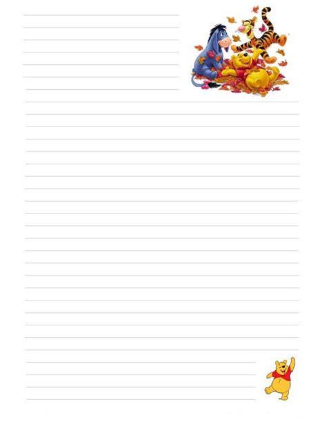 hojas para escribir cartas temas para ni 241 os hojas con dise 241 os para escribir