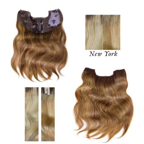 clip in hair extensions nyc balmain clip in weft new york hairextensions voordeel