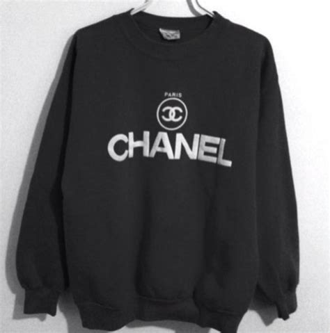 Jaket Hoodie Jumper Converse Sneaker Logo sweater chanel oversized sweater winter sweater