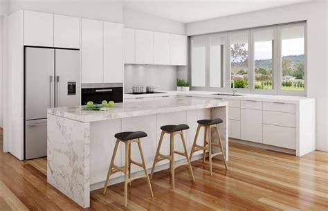 kitchen benchtop designs calacatta nuvo white kitchen light coloured floorboards