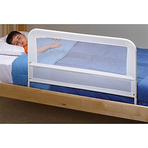 mesh bed rails kidco 174 mesh bed rail in white bed bath beyond