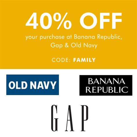 old navy coupons shoes old navy gap and banana republic extra 40 off free s
