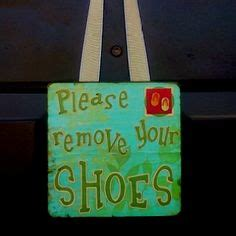 no shoes sign for house no shoes sign on pinterest shoes off sign blue and no shoes