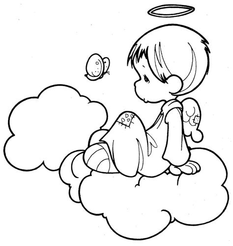 free coloring pages precious moments angels free printable precious moments angels coloring pages az