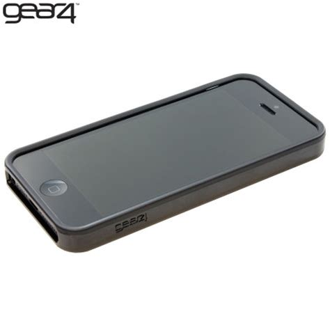 Rubber Cover Iphone 5sse gear4 g4ic506g iphone 5s 5 rubber bumper black