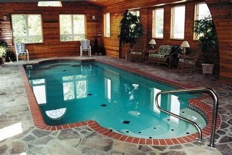 indoor pool luxury pools