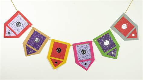 How To Make Toran Bandarwal Diy Diwali Decoration Idea Diwali Art And Craft For Kids