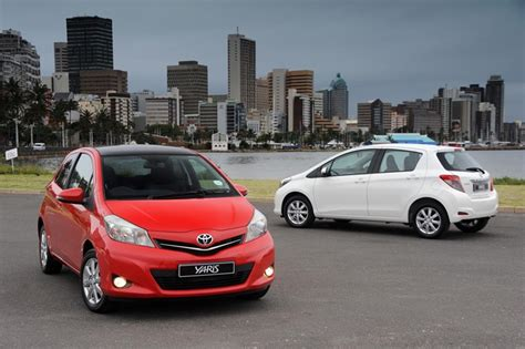 toyota south toyota south africa set the pace in the new toyota yaris