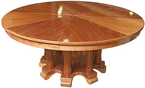 Expanding Circular Table by Circle Table That Expands Home Decoration