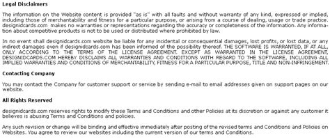Acceptance Letter For Terms And Conditions Terms And Conditions For Design Id Cards Software Site Material Copyright