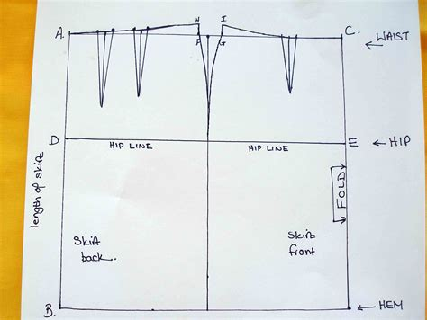 ease in pattern making the skirt pattern ease and seam allowances how to sew a