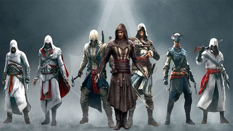 wallpaper 4k assassin s creed assassins creed aguilar with other assassins 4k