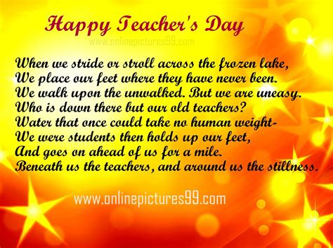 poems on day teachers day poems in poetry images