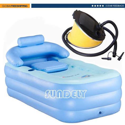 portable jacuzzi for bathtub outdoor inflatable spa bath bathtub portable foldable
