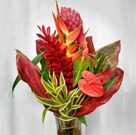 17 best ideas about tropical flower arrangements on 17 best images about heliconia wedding flowers on