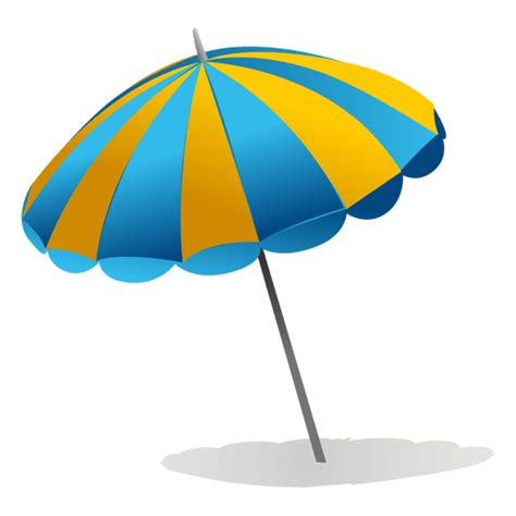 beach transparent beach umbrella transparent png svg vector