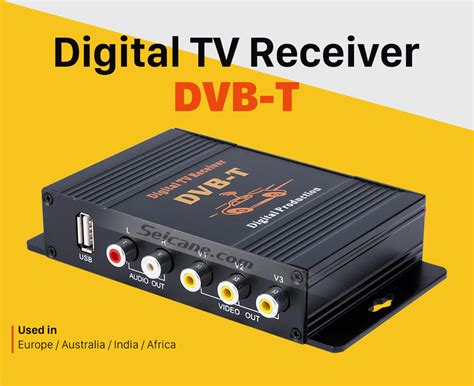 Tv Tuner Digital by Digital Tv Tuner Dvb T For Seicane Car Dvd Player