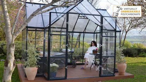 Garden Chalet by Palram Victory Orangery Greenhouse Garden Chalet