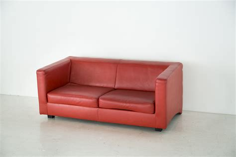 red couch studio red leather sofa lease hoxton studio