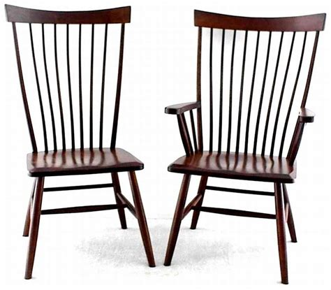 Unfinished Wood Dining Room Chairs by Amish Montpelier Windsor Chair