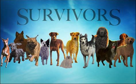 libro survivors the survivors characters left to right sweet mulch bruno fiery moon storm sunshine