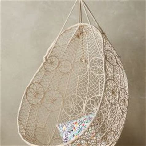 knotted melati hanging chair knotted melati hanging chair by from anthropologie home