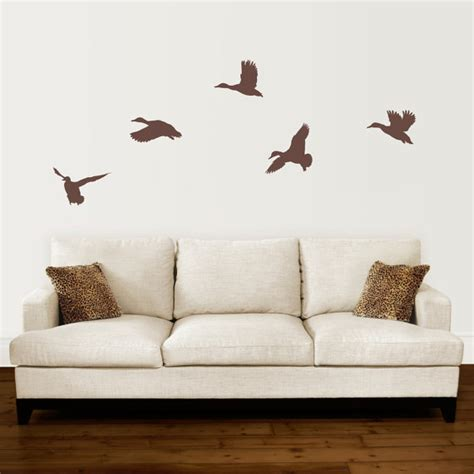 duck wall stickers duck wall decal set mallard ducks flying decal set of 5