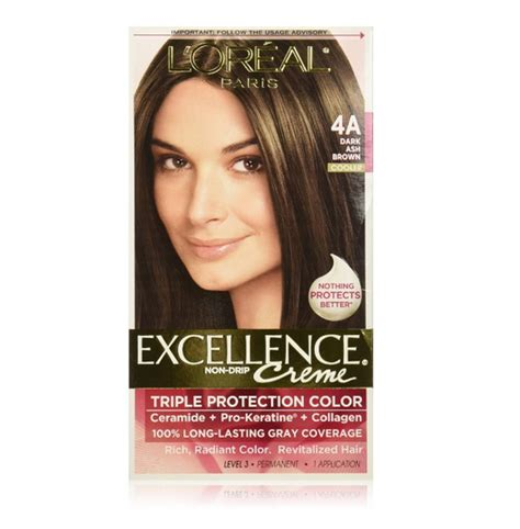 loreal excellence hair color ash l oreal excellence creme haircolor ash brown