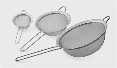 Cooking Set Bag Size S mesh strainer reviews stainless steel mesh