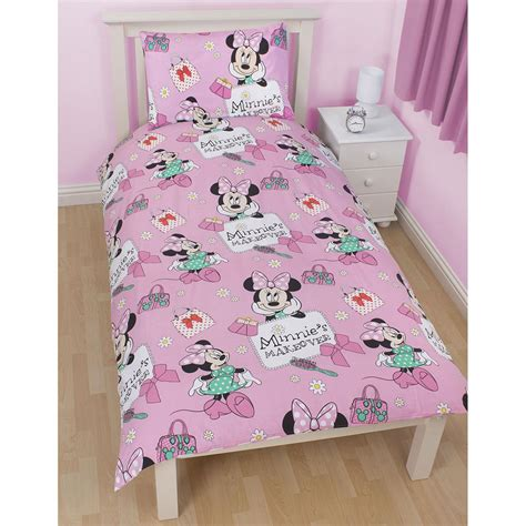 minnie mouse bedding and curtains disney minnie mouse makeover duvet cover matching 72 drop