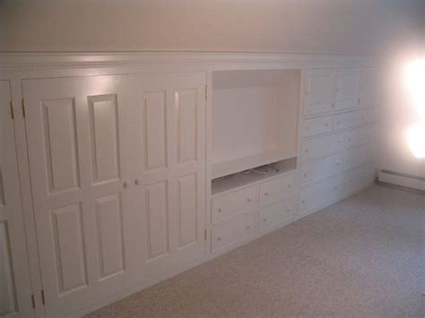 Knee Wall Storage Bathroom Built In Dresser In Knee Wall Search Bonus Room