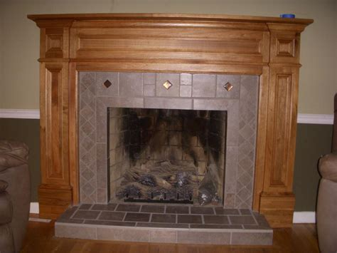 Rustic Wood Fireplace Mantel All Home Decorations Wood Fireplace Surround