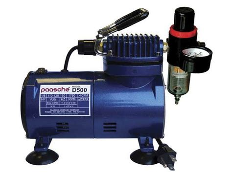 paasche d500sr air compressor w regulator d500sr ebay