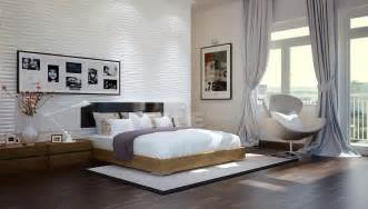tuananh eke s modern white bedroom with heavy silver