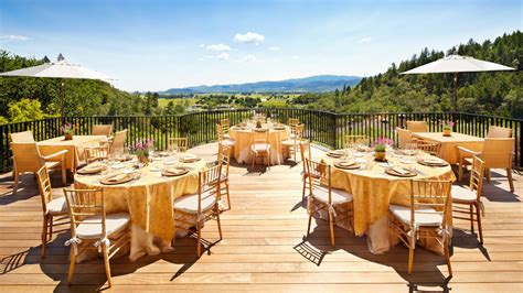intimate wedding venues northern ca best wedding venues in napa valley food wine