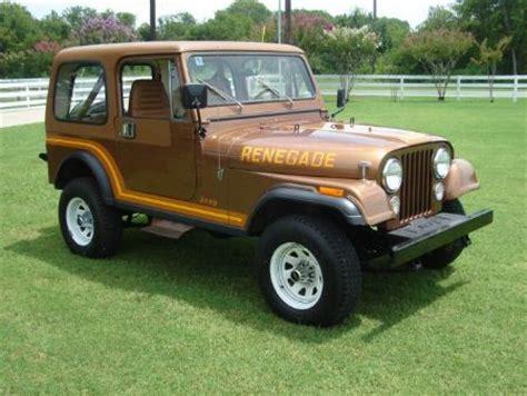 Jeep 1985 For Sale 1985 Jeep Cj7 For Sale Chicago Illinois