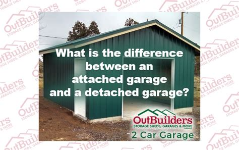 garage distinction what is the difference between an attached garage and a