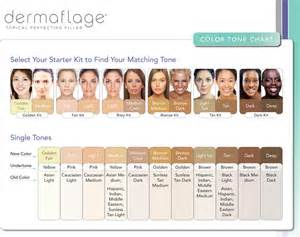 skin color chart skin tone charts on hair color charts warm