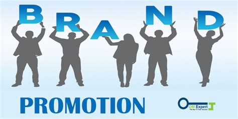 brand promotion  marketing expert