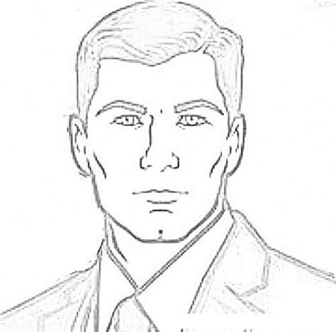 imagenes para dibujar rostros rostros de hombre para dibujar imagui