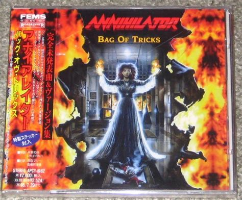 Annihilator Criteria For A Black Widow Japan Pressing annihilator records lps vinyl and cds musicstack