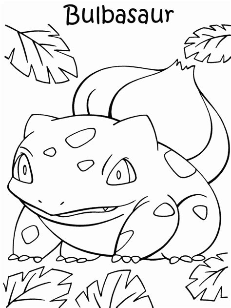 pokemon coloring pages bulbasaur pokemon bulbasaur