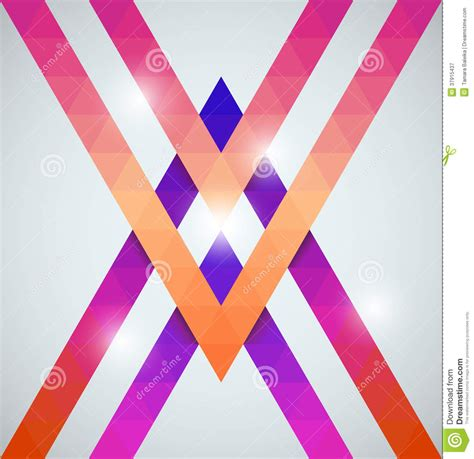 geometric pattern photography geometric shining pattern with triangles royalty free