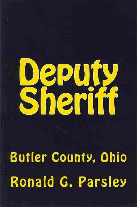 Butler County Ohio Records New Deputy Sheriff Butler County Ohio By Ronald G