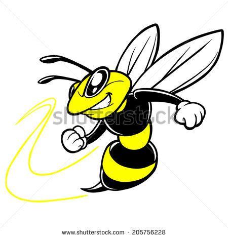 Wall Clock Jam Dinding Sticker Lebah Bee Jam Sticker Lebah Lucu mascot stock photos royalty free images vectors
