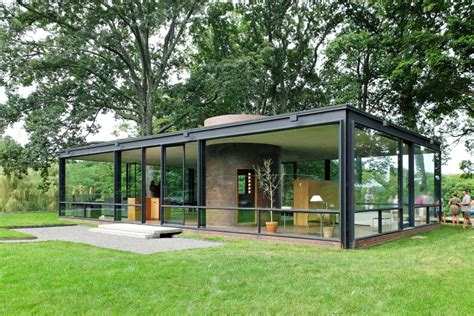 glass house new canaan getting inside philip johnson s head at the glass house architect magazine