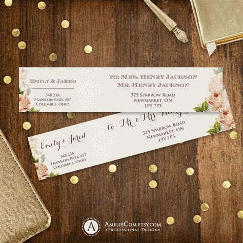 free printable envelope address labels 1000 ideas about address label template on pinterest